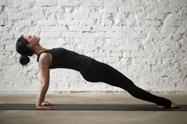 Upwards plank pose - purvottanasana
